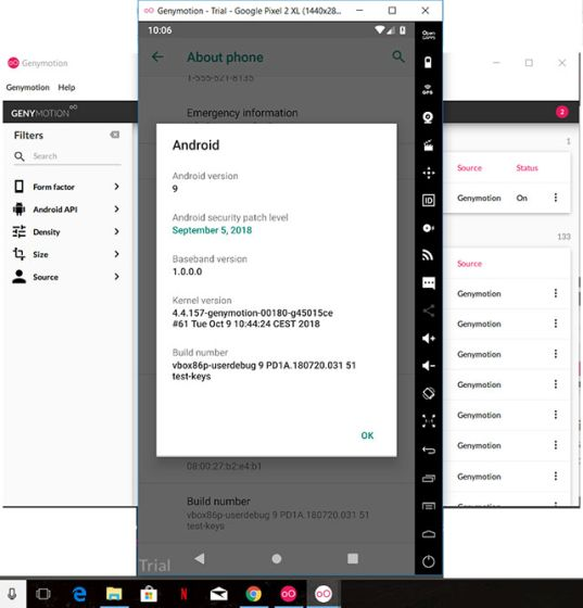 android emulator for windows 10 free download