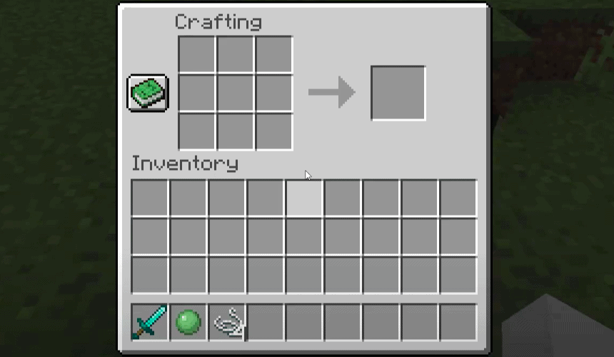 how to make a lead in minecraft without slime