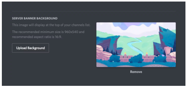 What Discord Server Banner and Splash Background Is