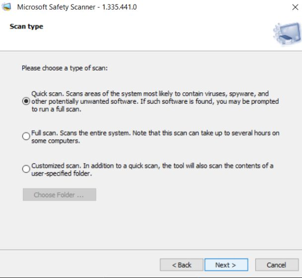 microsoft safety scanner review