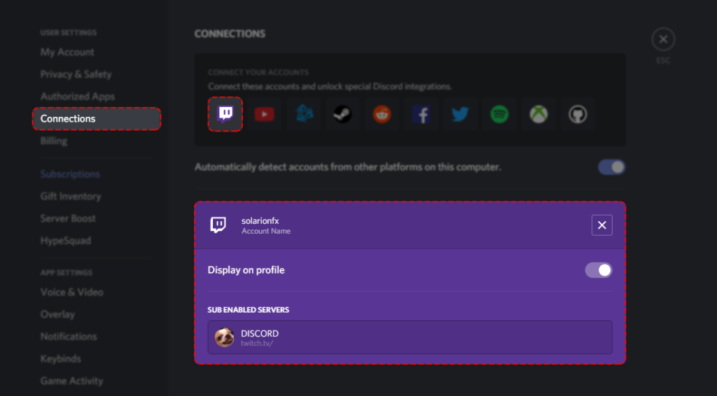 discord streamer mode is enabled