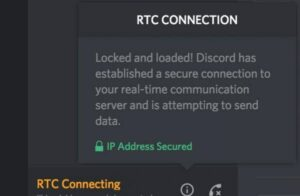How to Resolve RTC Connecting DISCORD?